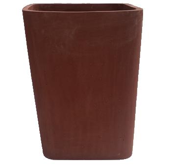 קונוס עם פינות מעוגלות בצבע חום